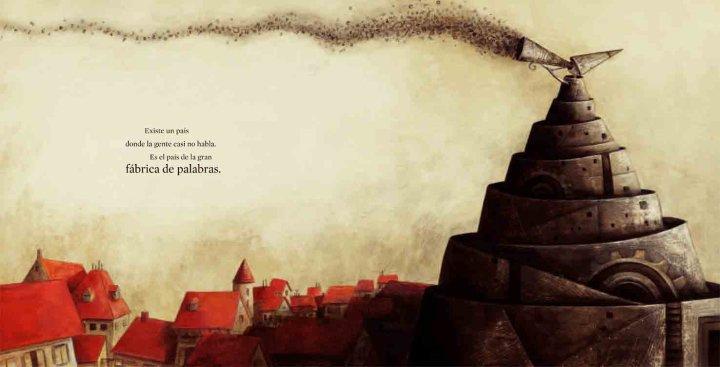 Agnès de Lestrade- Valeria Docampo: La gran fábrica de las palabras (2/4)