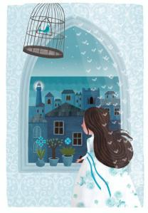 La princesa Doda, ilustración de Adrienn Gyöngyösi