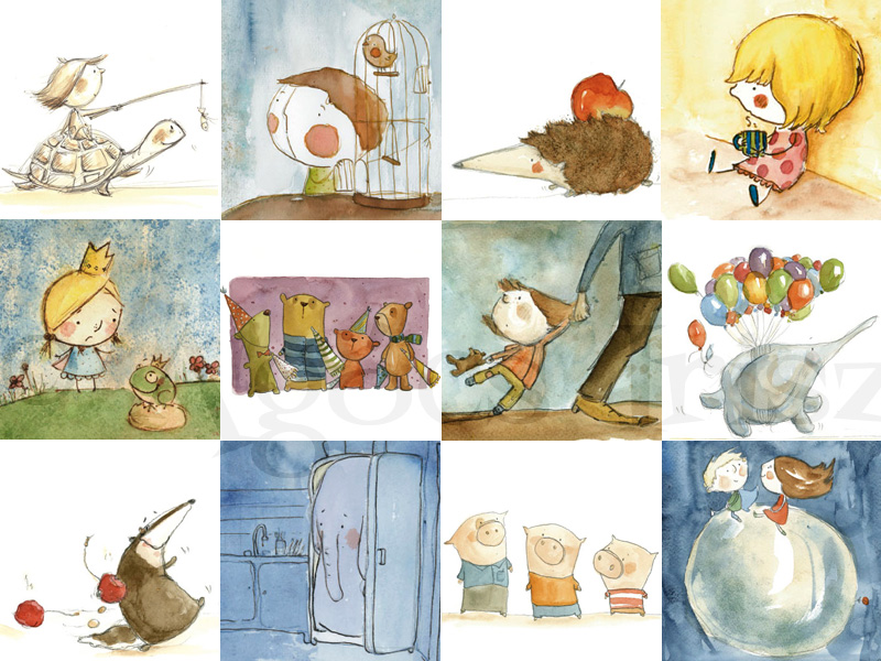 Entrevista con escritores e ilustradores húngaros, catalanes, españoles y latinoamericanos: Írisz AGÓCS (ilustradora húngara) (1/3)