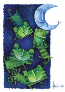 Cuando los gatos verdes cantan, Trama editorial, 2007.