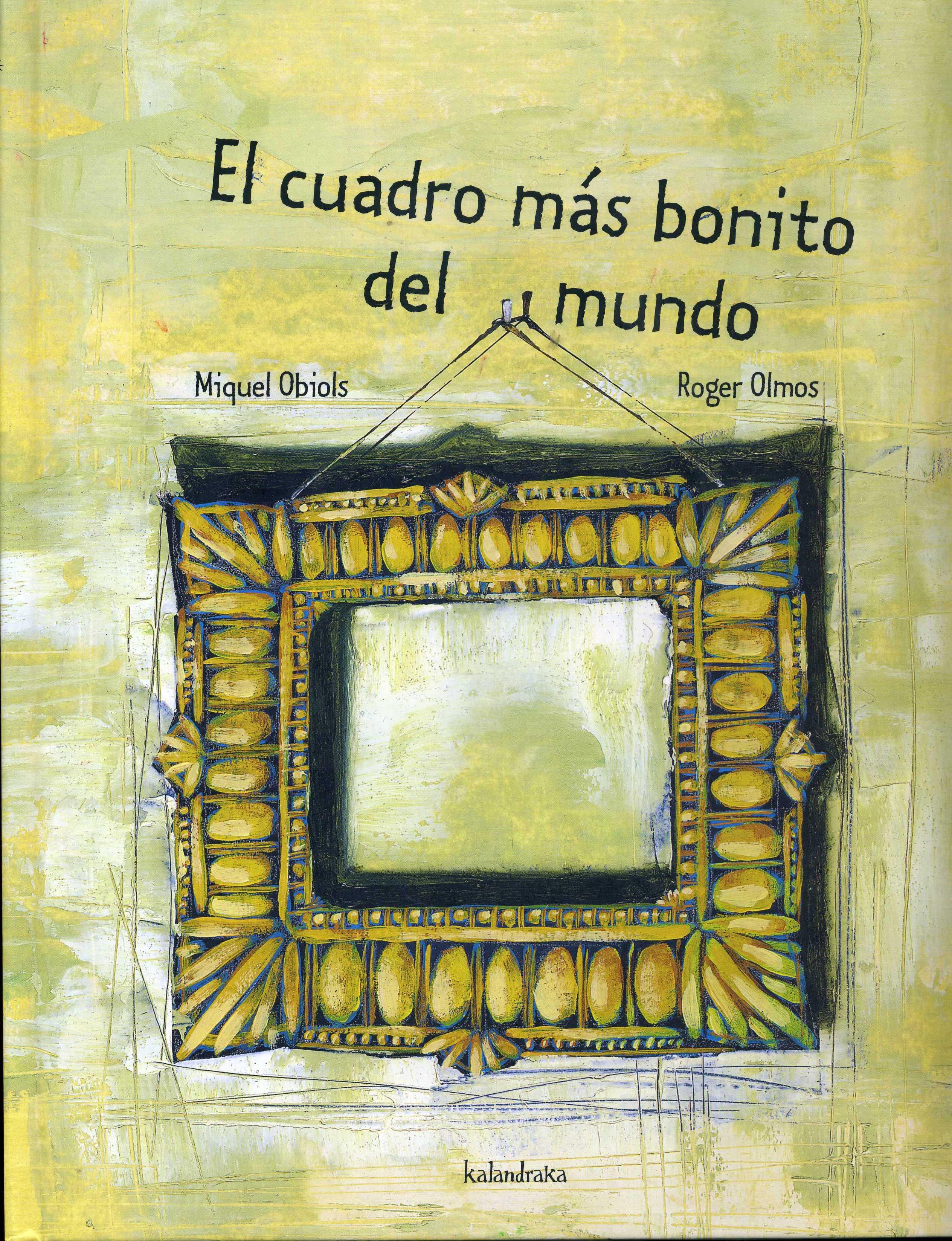 Miquel obiols roger olmos el cuadro m s bonito del mundo for El bano mas bonito del mundo