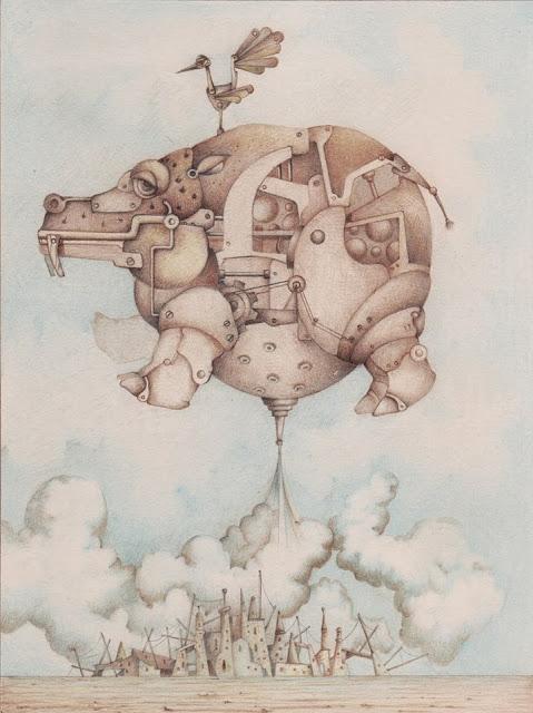 Ilustración hecha por Enrique Quevedo