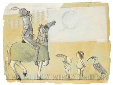 Ilustración de Carolina Durán, artista chilena
