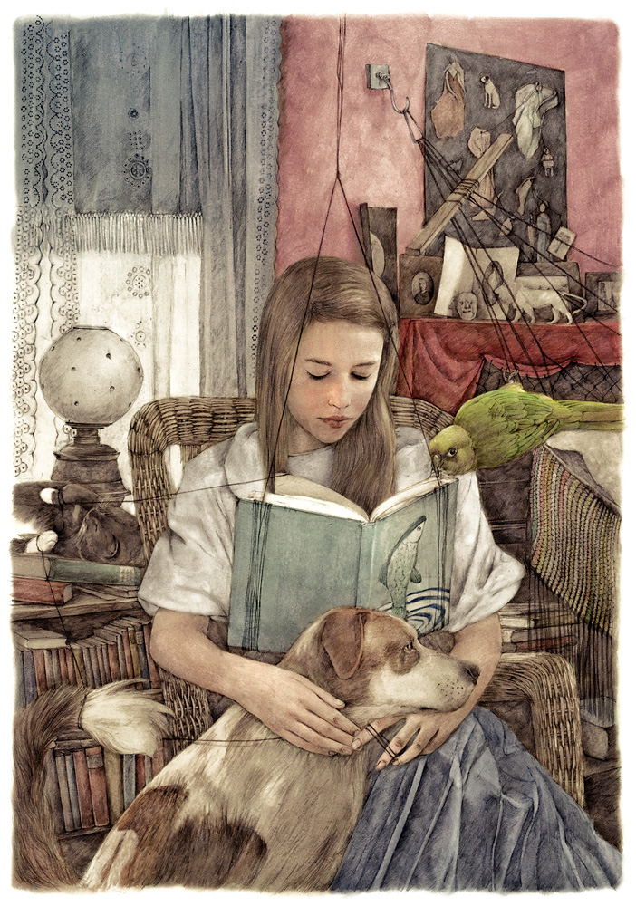 Illustration made by Sonja Danowski, german artist