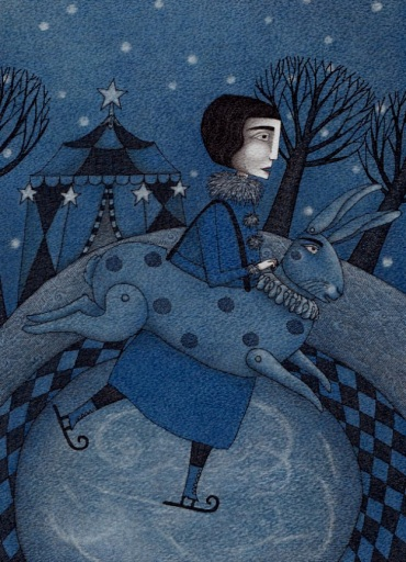 Illustration made by Judith Clay, german artist