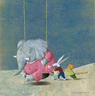 Ilustración de Marcela Calderón, artista argentina