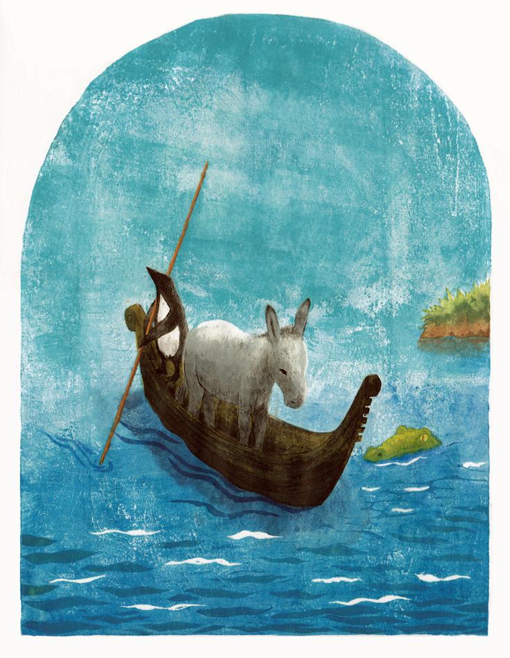 Illustration made by Pesca Nekono, Japanese artist