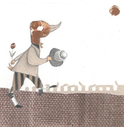 Ilustración hecha por Rosi Aragón, artista mexicana